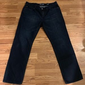 """Seven7 dark wash jeans """"skinny"""" fit style"""